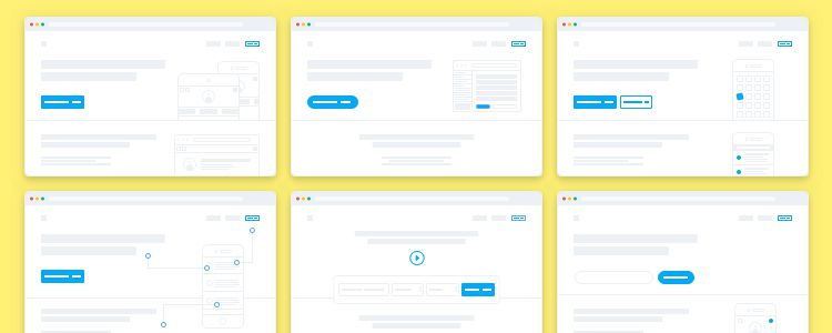 Lil Landing Pages Templates Sketch
