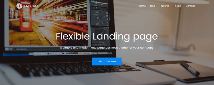 Flexible Free Business Corporate Theme Bootstrap