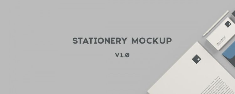 Free Stationery Mockup Photoshop