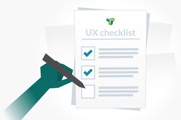 The UX Design Checklist