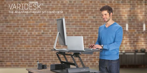 varidesk desk stand sit illustration mobile ios screenshot app freelance designer