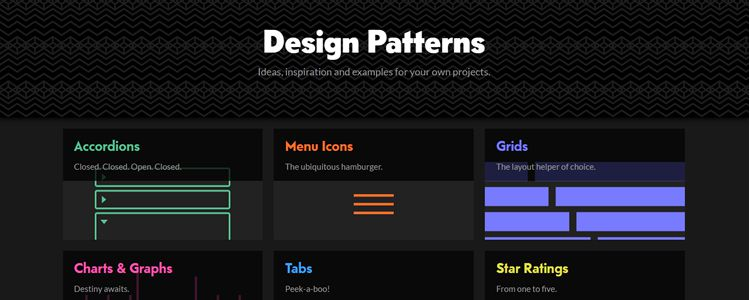 CodePen Design Patterns