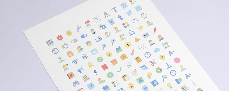 Freebie Responsive Office Icons EPS PDF SVG PNG