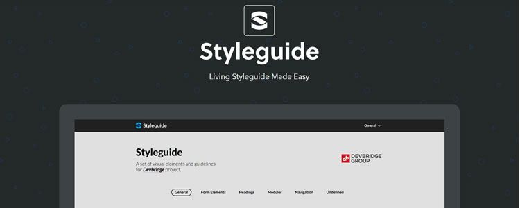 Styleguide resource that makes creating living styleguides much easier