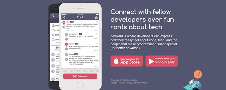devRant iOS Android