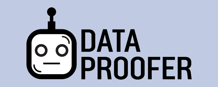 Dataproofer proofreader for data