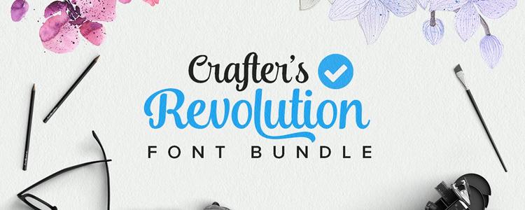 The Crafters Revolution Font Bundle