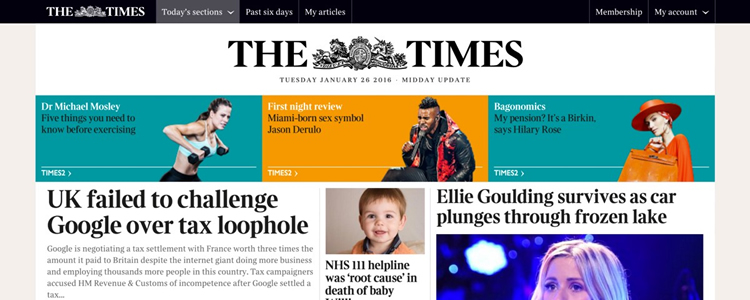 Building the UI for the New The Times Website