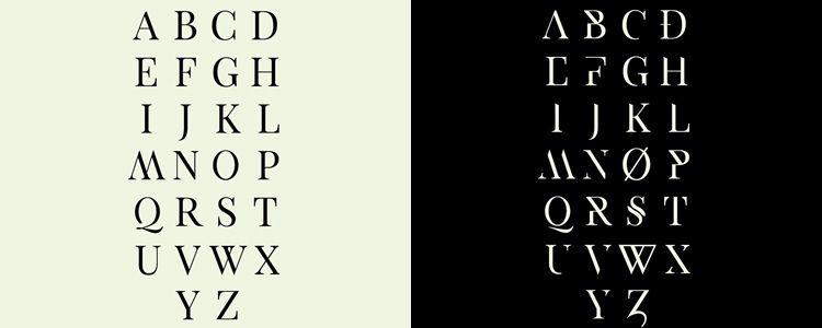 Exodus serif free font family typeface