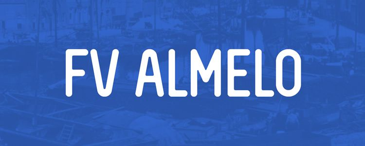 FV Almelo Rounded sans serif free font family typeface