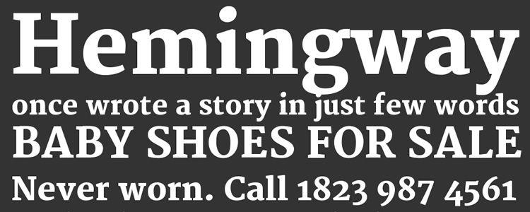 Merriweather serif free font family typeface