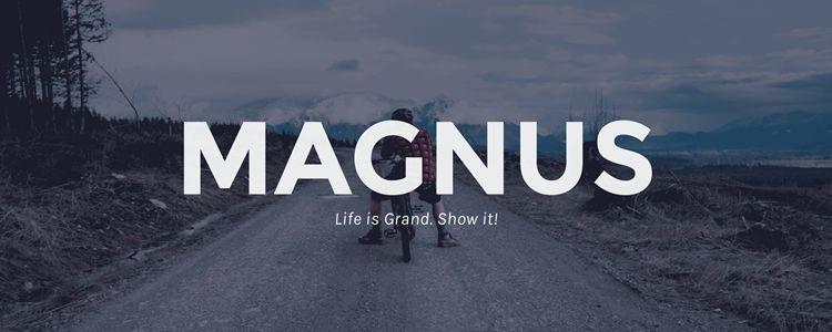 Magnus Free Photoblogging Theme WordPress