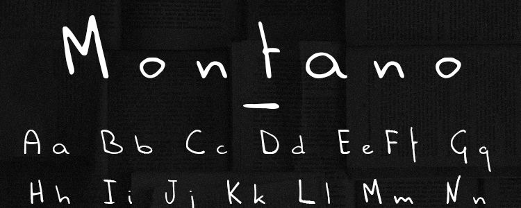 Montano Free Font