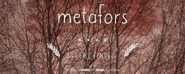Metafors Free Font