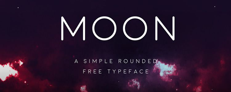 Moon Rounded Sans free font family typeface