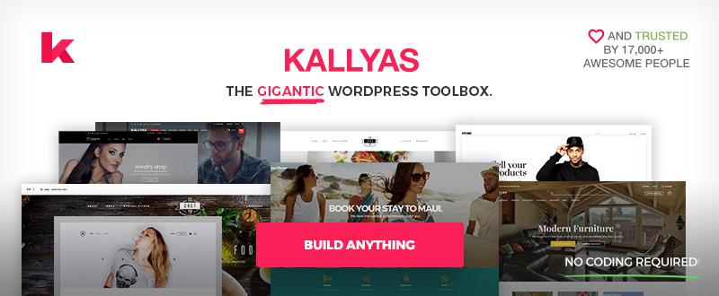 Kallyas- Responsive Multi-Purpose WordPress Theme