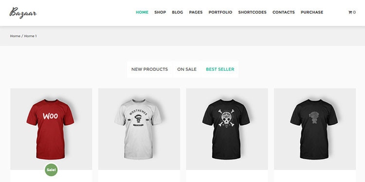 Bazaar WordPress Theme