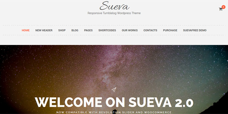 Sueva WordPress Theme