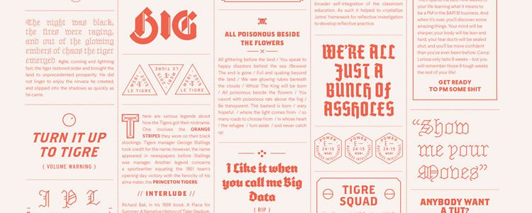 The Value of Multi-Typeface Design