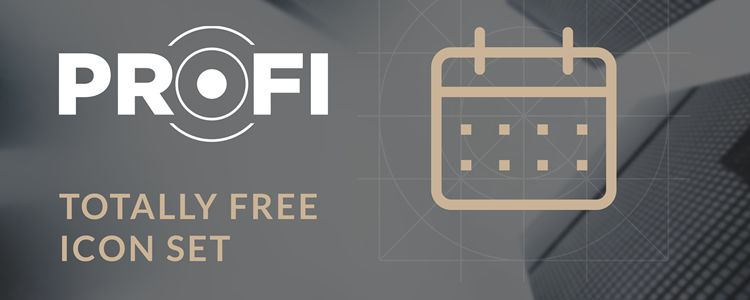 Freebie Profi Icon Set 84 fully scalable vector icons