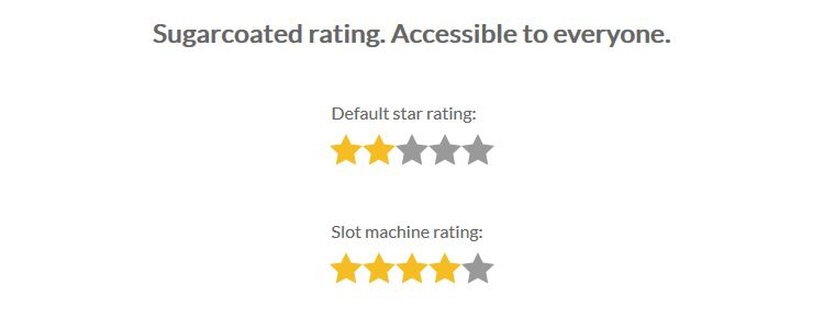 Starability Accessible rating forms innovative animations