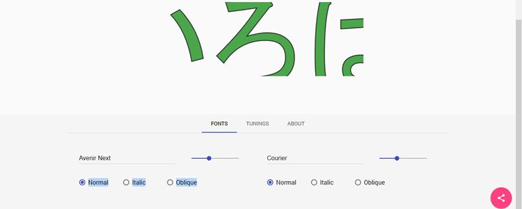 glyphdiff simple tool for comparing the differences of two fonts