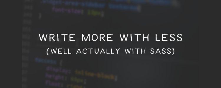 Sass Mixins to Simplify CSS