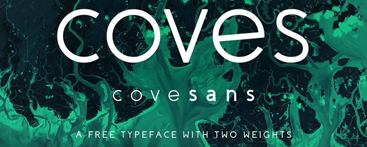 Coves Light Bold designer monthly free resources font typeface