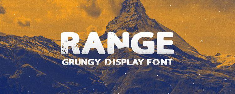 Range Sans Display designer monthly free resources font typeface