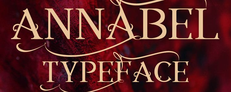Annabel Regular designer monthly free resources font typeface