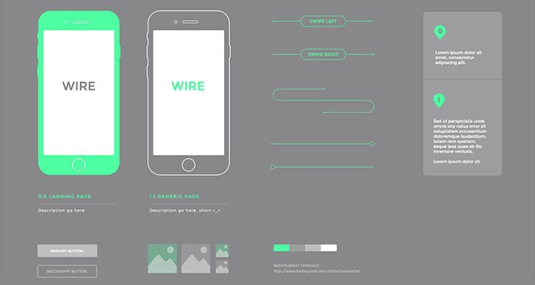 50 free wireframe templates for mobile web and ux design simple sketch ios iphone ipad mobile app free wireframe kit template ui design malvernweather Gallery