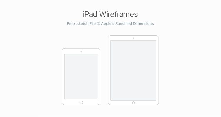 iPad Wireframes UX sketch ios iphone ipad mobile app free wireframe kit template UI design