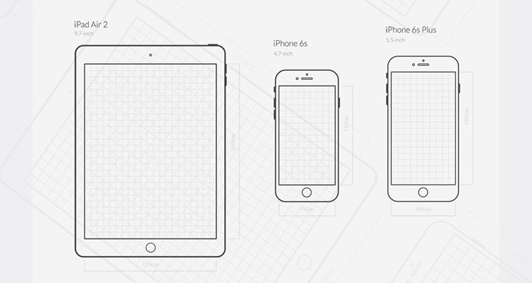 IOS UX Png Eps Illustrator Vector Svg Ios Iphone Ipad Mobile App Free Wireframe Kit Template