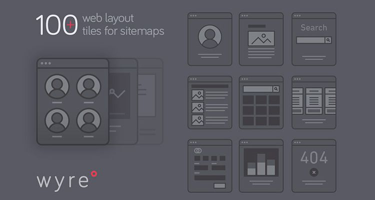 Wyre Web Layout Flowcharts AI EPS SVG Illustrator Ux Flowchart Userflow Development Free Wireframe Kit Template