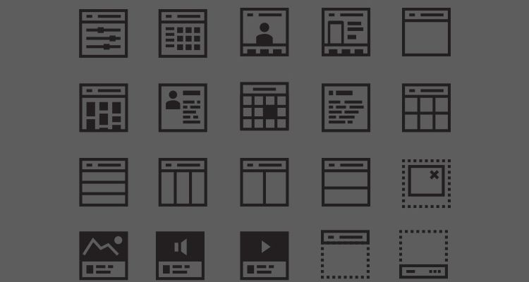 Wireframer Icon Pack (SVG ux flowchart userflow development free wireframe kit template UI design