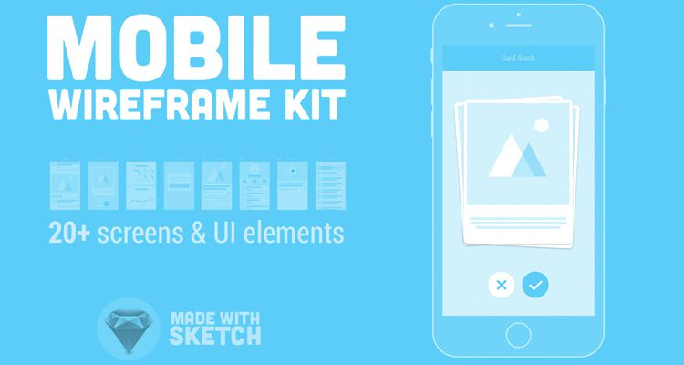 mobile sketch ux flowchart userflow development free wireframe kit template UI design