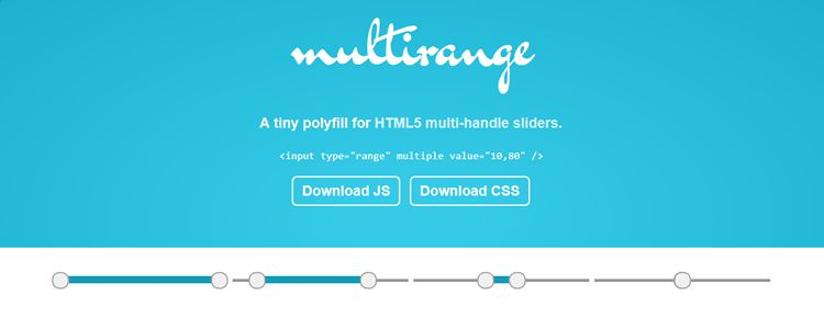 ><strong>Multirange tiny polyfill HTML5 multi-handle sliders designer news&#8221;/></p> <p style=