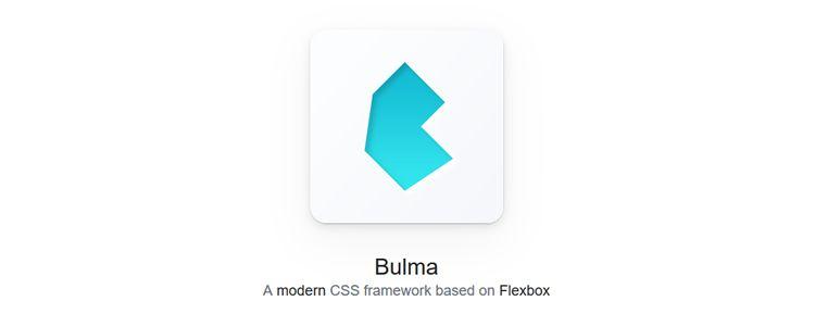 Bulma modern CSS framework based Flexbox designer news