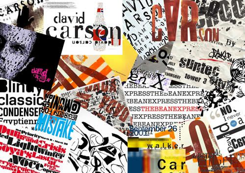 david carson grid graphic design
