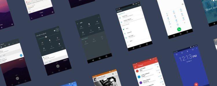 Android N UI Kit Sketch