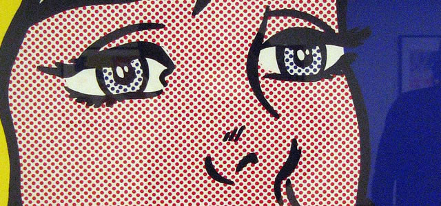 The melody hunts my reverie Roy Lichtenstein