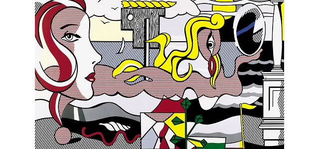 Figures in Landscape 1977 Roy Lichtenstein