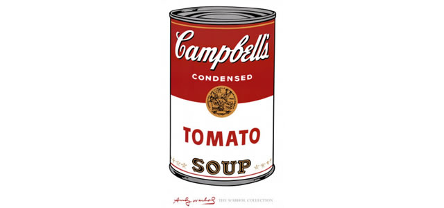 Campbells Soup 1968 Andy Warhol