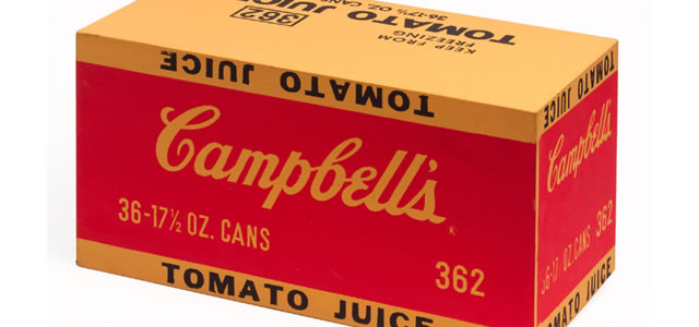 Campbell's Soup Juice Box 1968 Andy Warhol