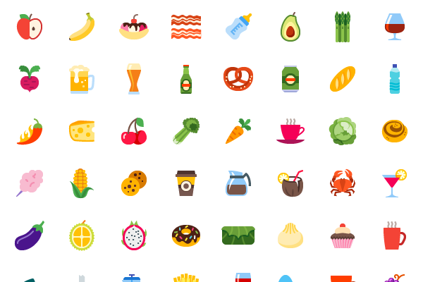 100_Food_and_Drinks_Color_Icons_by_Icons8-thumb