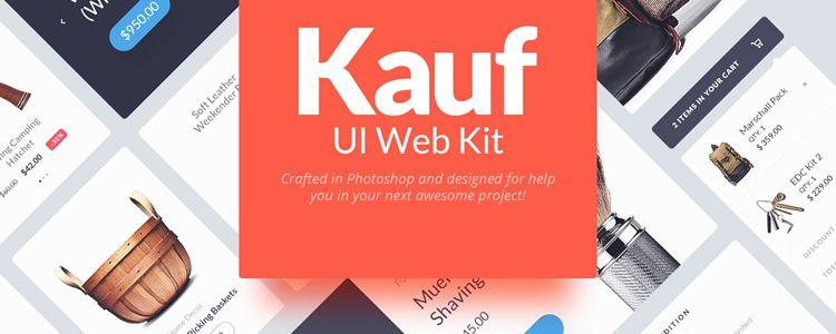 Kauf Web UI Kit