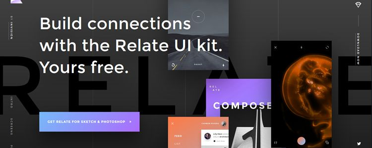 Free Relate UI Kit