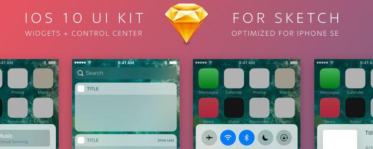 iOS 10 UI Kit