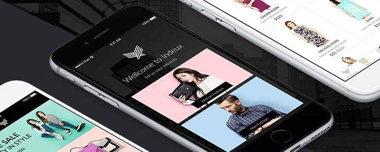Indeux Fashion Store UI Kit