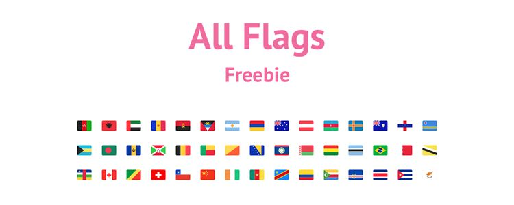 All Flag Icon Set